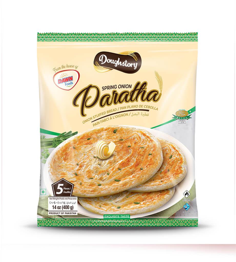 Doughstory Spring Onion Paratha