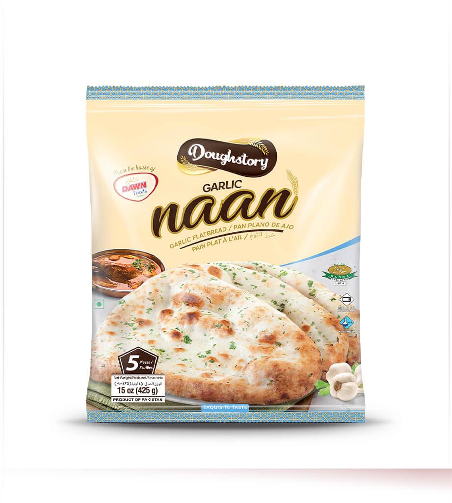Doughstory Garlic Naan